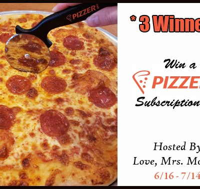 Pizzer Time Subscription Box Giveaway! $165 TRV!
