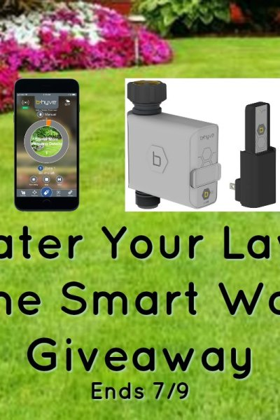 Water Your Lawn The Smart Way Giveaway Ends 7/9