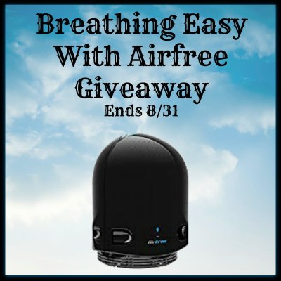 Breathing Easy With Airfree Giveaway Ends 8/31
