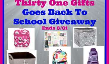 Welcome to the The Thirty One Gifts Goes Back To School Giveaway Ends 8/31