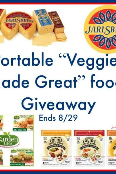 """Portable """"Veggies Made Great"""" foods Giveaway Ends 8/29"""