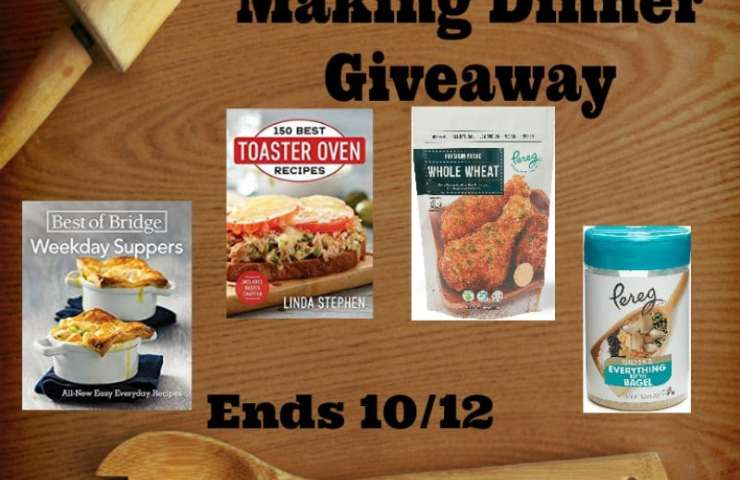 Help For Making Dinner Giveaway Ends 10/12