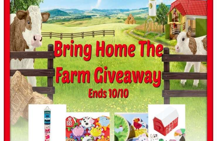 Bring Home The Farm Giveaway Ends 10/10