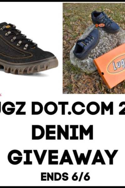 Lugz Dot.com 2.0 Denim Giveaway Ends 6/6