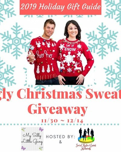 2019 Ugly Christmas Sweater Giveaway – Ends 12/14