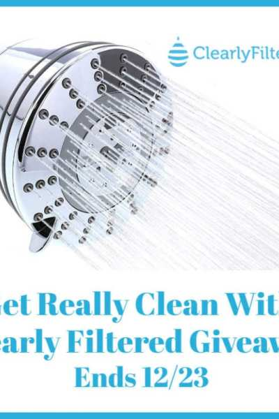 Get Really Clean With Clearly Filtered Giveaway Ends 12/23