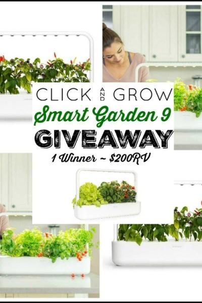 Click & Grow Smart Garden 9 Giveaway (1 Winner ~ $200 RV)