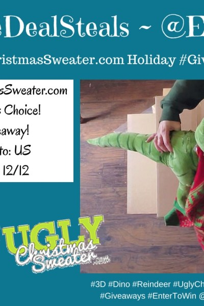 Ugly Christmas Sweater ~ Winner's Choice #Giveaway