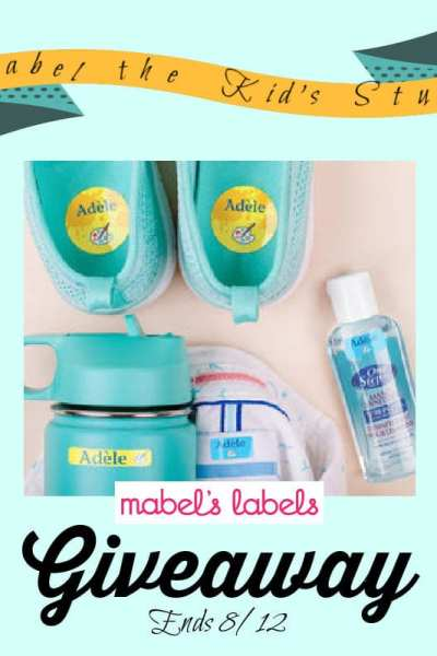Label The Kids Stuff Giveaway Ends 8/12