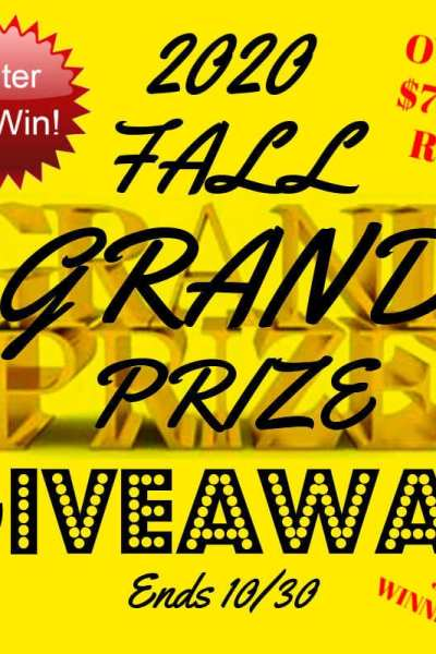 2020 Fall Grand Prize Giveaway