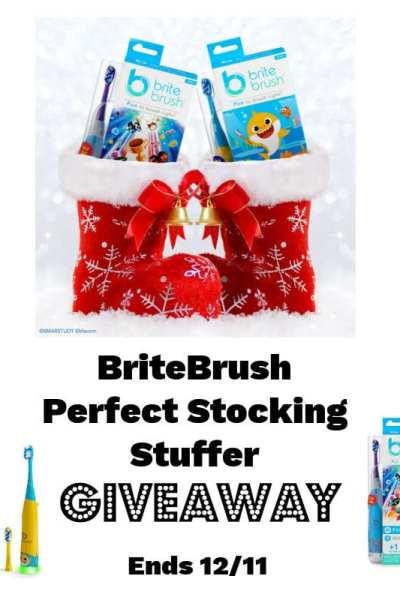 BriteBrush Perfect Stocking Stuffer Giveaway