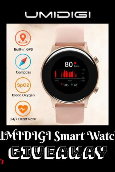 UMIDIGI Smart Watch Giveaway