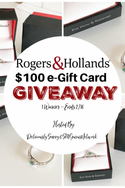 Rogers & Hollands $100 e-Gift Card Giveaway