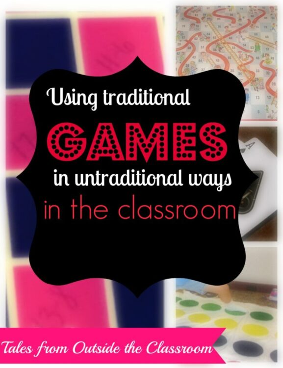 Tales from Outside the Classroom: Using traditional games in untraditional ways in the classroom