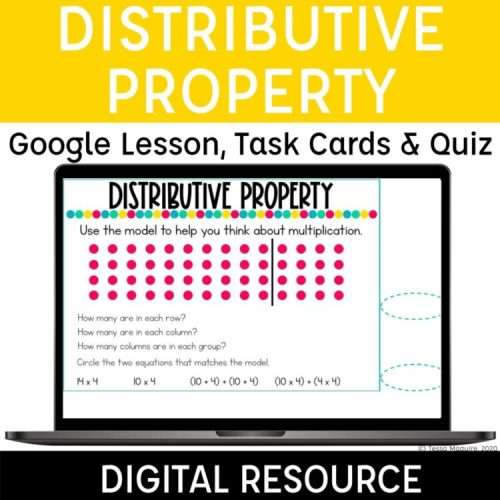 Digital Resources for the Distributive Property of Multiplication
