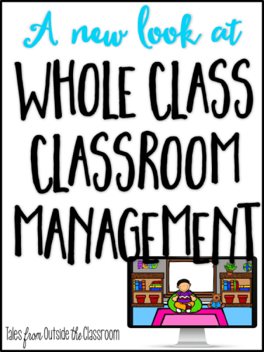 Whole Class Classroom Management Reinforcement