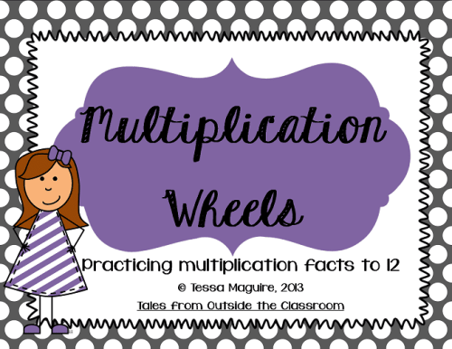 Multiplication Wheels cover