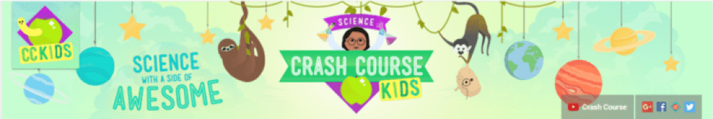 Crash Course Kids Header