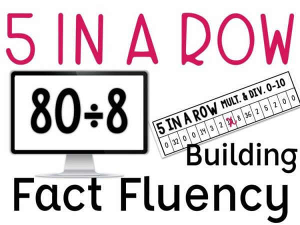 Building Fact Fluency with 5 in a Row