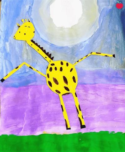 Giraffes can't dance art