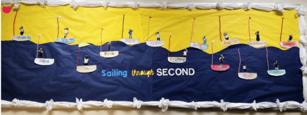 Sailing through second bulletin board