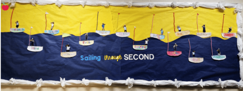 Sailing through second bulletin board