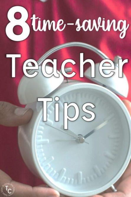 8 time-saving tips for teachers