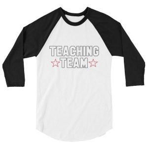 teaching team raglan tee