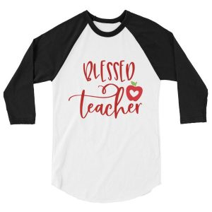 Blessed teacher raglan