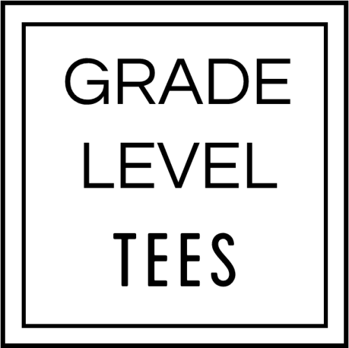 T-shirts for different elementary grade levels