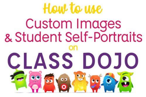 How to create and use custom avatars on Class Dojo