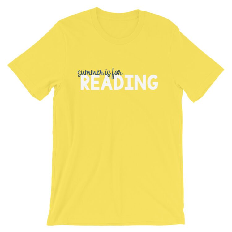 Yellow Summer is for Reading tee