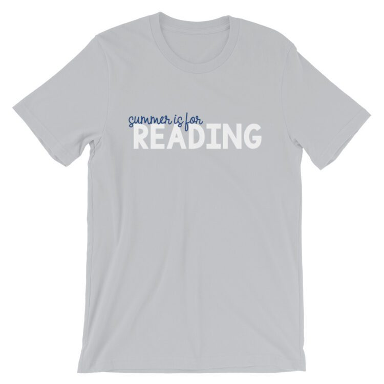 Silver Summer is for Reading tee
