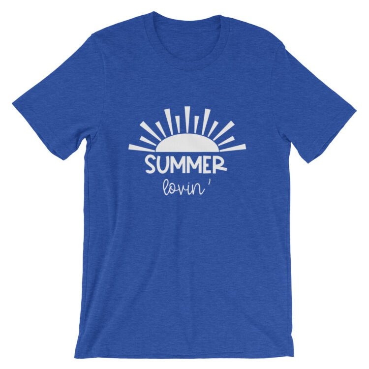 Heather True Royal Summer Lovin' tee