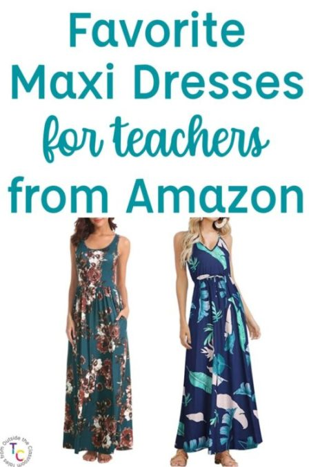 Favorite Amazon maxi dresses for teachers