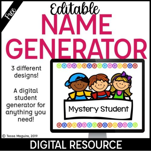 Random Student Name Generator product cover