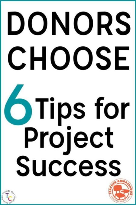 6 Tips for Success on DonorsChoose