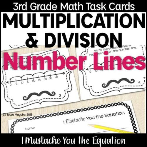 Multiplication and Division on Number Lines product cover