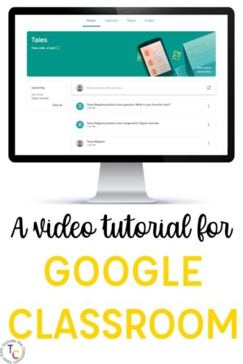 A video tutorial for Google Classroom