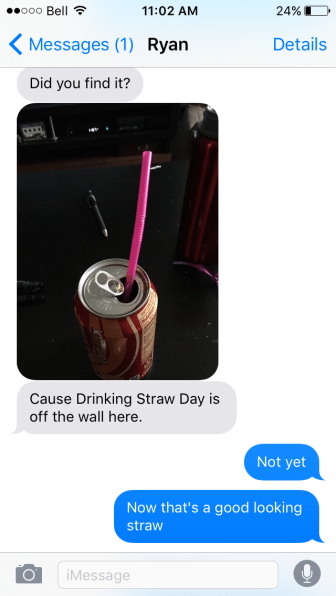 Drinking Straw Day