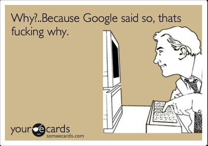 because google said so