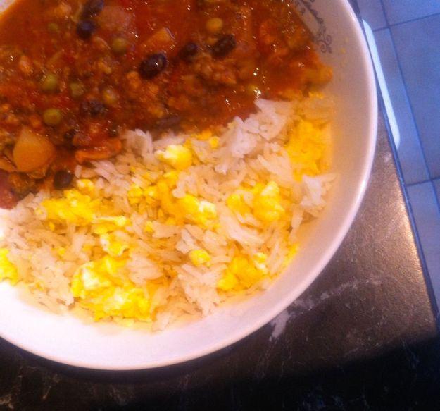 groentencurry met rijst