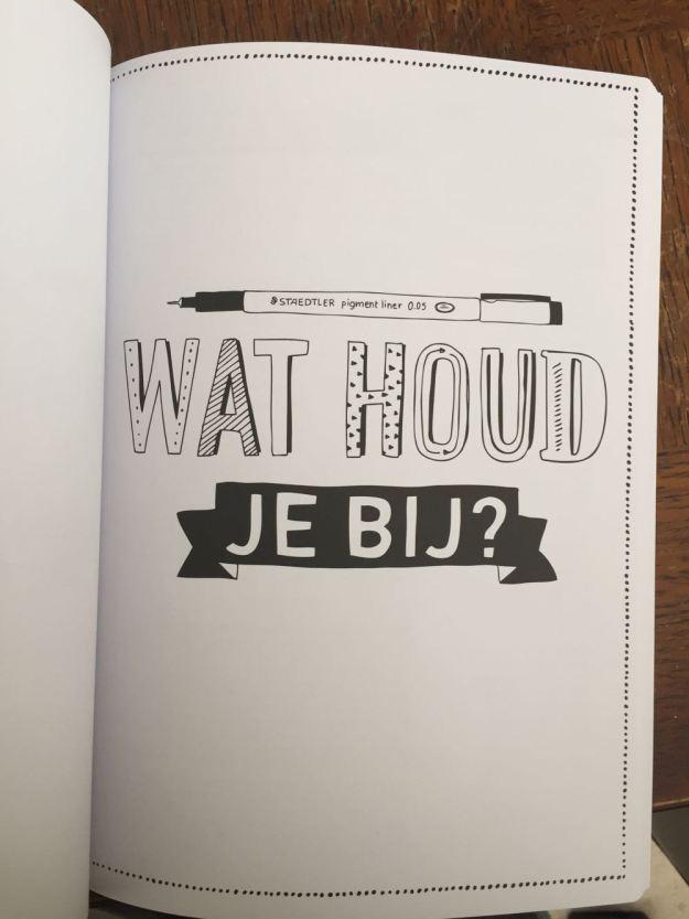 Wat je wilt, dus eigenlijk. En dit is een pagina uit het boek. <3