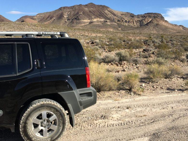 Jean Dry Lake, McCullough Range, Las Vegas, Seven Magic Mountains, Nevada, Desert, Mojave Desert, Roach, Jean, Xterra
