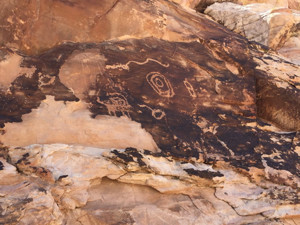 Falling Man, Gold Butte, Petroglyphs, Pictographs, Rock Art, Nevada