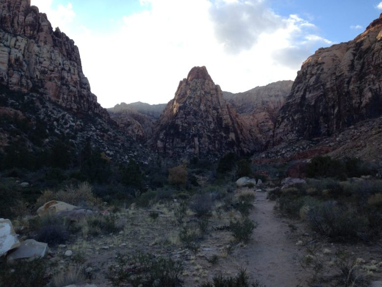RRNCA, Fern Canyon, Las Vegas, Nevada, Pine Creek Canyon, Red Rock National Conservation Area