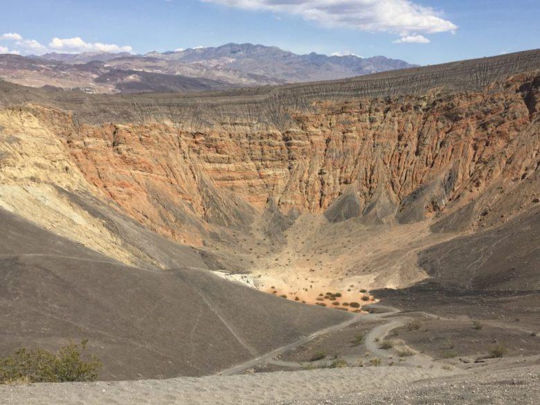 Ubehebe Crater, Death Valley, California, Mojave Desert, Desert