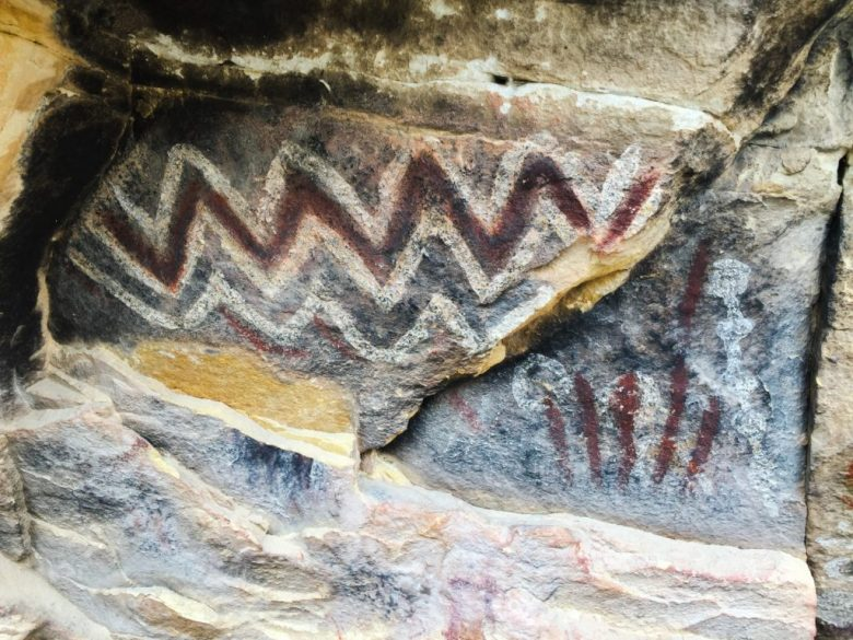 Brownstone Canyon, Las Vegas, Red Rock, RRNCA, Nevada, Pictographs, Petroglyphs, Rock Art, Desert, La Madre Mountains