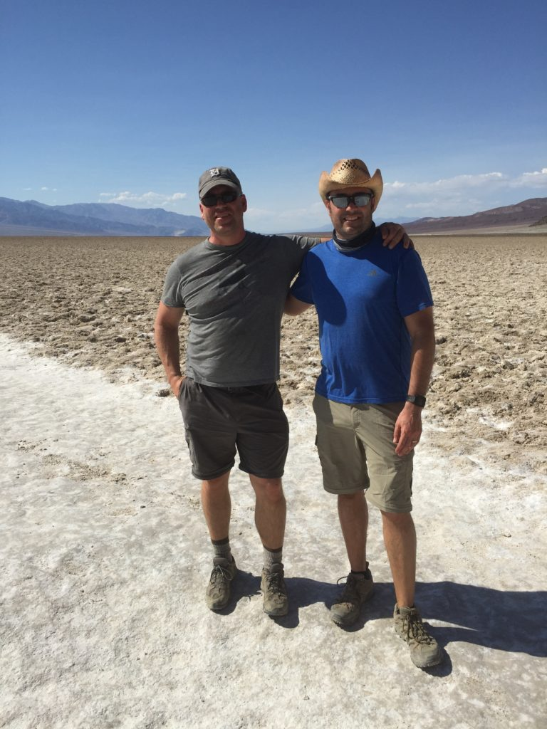 Badwater Basin, Death Valley, California, Mojave Desert