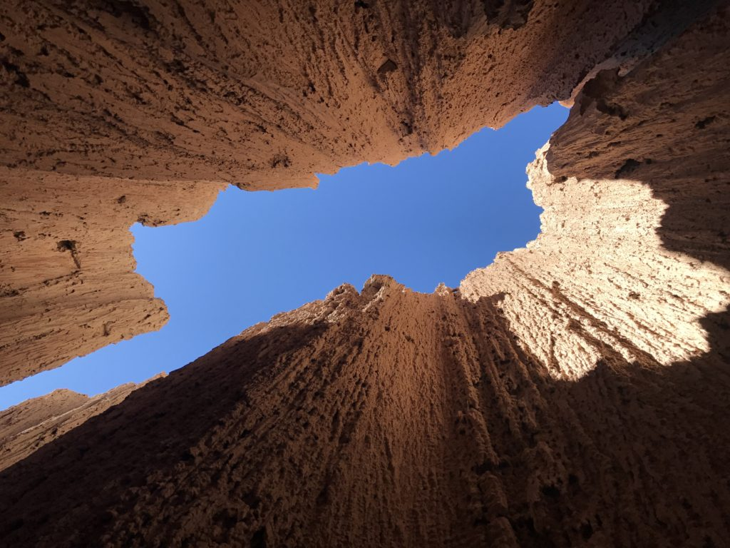 Cathedral Gorge, Panaca, Nevada, Slot Canyons